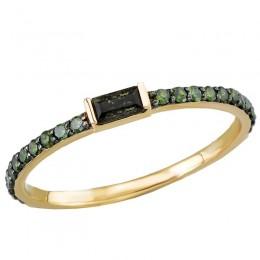Ladies Diamond and Gemstone Ring