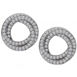 Ladies Fashion Diamond Earrings
