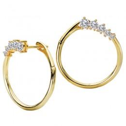 Ladies Fashon Diamond Earrings