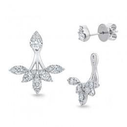 Diamond Earrings & Earring Jacket
