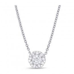 Diamond Bouquets Everyday Necklace 1ct look