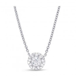 Diamond Bouquets Everyday Necklace 2ct look