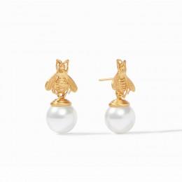 Julie Vos Bee Pearl Earring