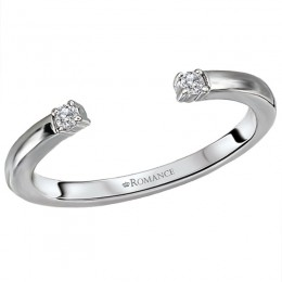 Diamond Nesting Wedding Ring
