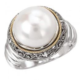 Ladies Fashion Pearl Ring