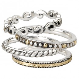Ladies Fashion Stackable Rings