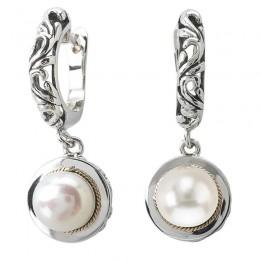 Ladies Fashion Pearl Earrings