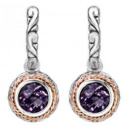 Ladies Fashion Gemstone Earrings
