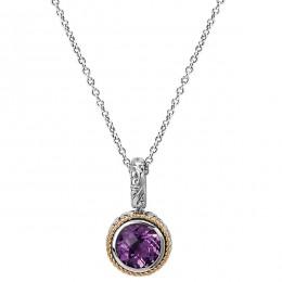 Ladies Fashion Gemstone Pendant