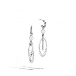 Palu Pearl Drop Link Earring