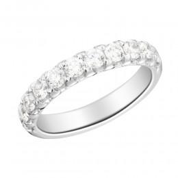 1 Carat french Set Diamond Band