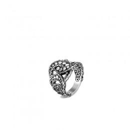 Dot Silver Ring